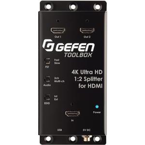 Gefen 4K Ultra HD 1:2 Splitter for HDMI (GTB-HD4K2K-142C-BLK)
