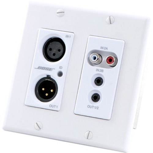 Bose ControlSpace WP22BU-D 2-in/2-out Dante Wall Plate