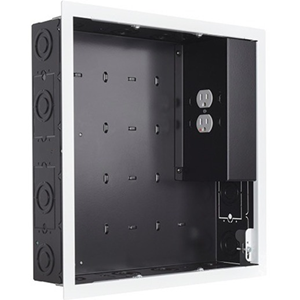 Chief PAC526FWP2 Mounting Box for A/V Equipment - Black, White