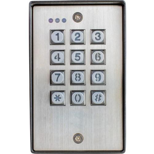 Seco-Larm Vandal Resistant Outdoor Access Control Keypad