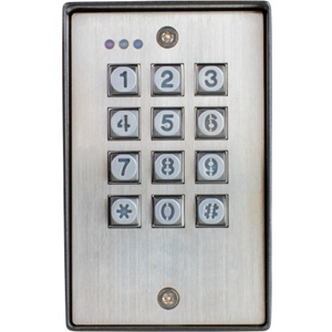Seco-Larm Vandal Resistant Outdoor Access Control Keypad
