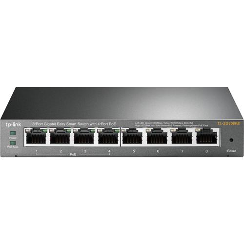 TP-Link 8-Port Gigabit Easy Smart Switch with 4-Port PoE