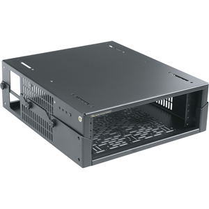 Middle Atlantic UTB-HR-A2-14 Mounting Box for Network Equipment, A/V Equipment, HDMI Switcher, Video Switcher - Black Powder Coat