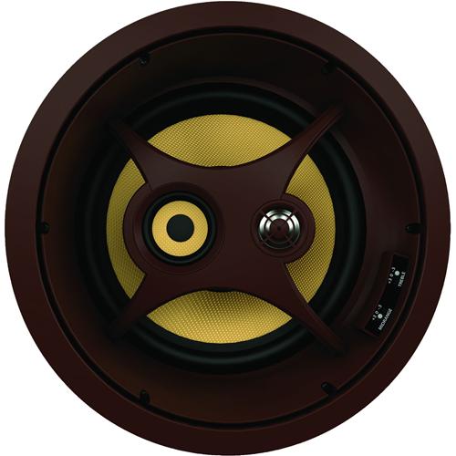 Proficient Audio C1075S 3-way In-ceiling Speaker - 200 W RMS - Dark Brown