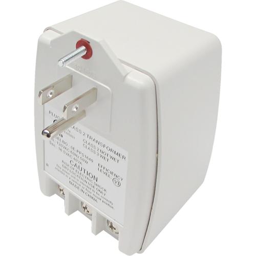W Box 24VAC, 40VA (40 Watts) Primary: 120VAC, 60Hz, 50W Auto-Resetting PTC Fuse