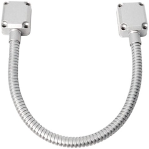 """Seco-Larm Armored Door Cord - Die-cast Aluminum End Caps, 17"""" (43cm)"""