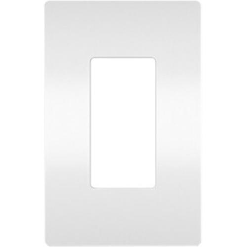 Legrand One-Gang Screwless Wall Plate, White