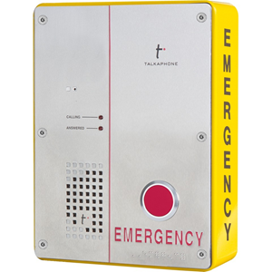 Talkaphone ETP-SM-1 Surface Mount for Emergency Call Station - Yellow