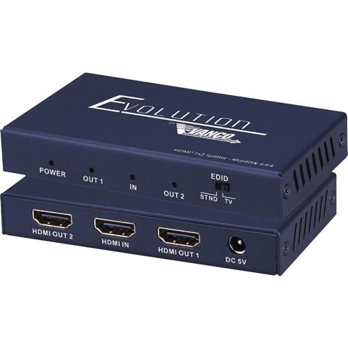 Vanco Evolution Premium 4K HDMI 1x2 Splitter