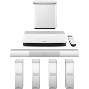 Bose Lifestyle 650 5.1 Home Theater System - Control Console - White