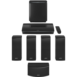 Bose Lifestyle 600 5.1 Home Theater System - Control Console - Black