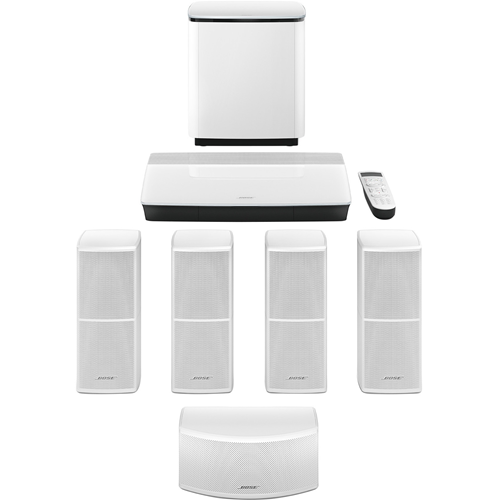Bose Lifestyle 600 5.1 Home Theater System - Control Console - White