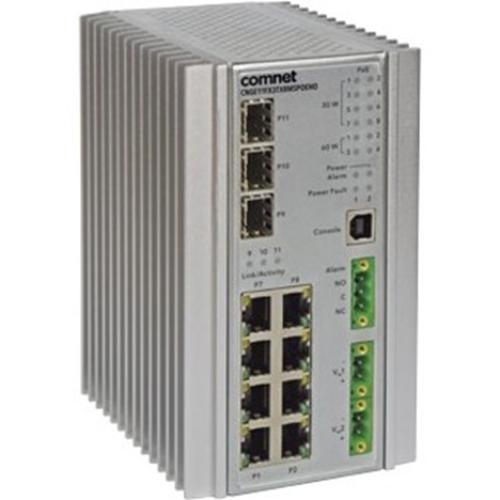 ComNet CNGE11FX3TX8MSPOE Ethernet Switch