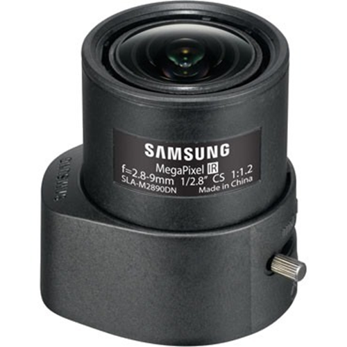 Hanwha Techwin SLA-M2890DN - 2.80 mm to 9 mm - f/1.2 - Zoom Lens for CS Mount