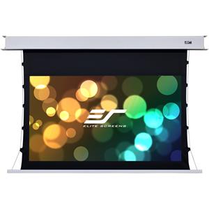 "Elite Screens Evanesce Tab-Tension B ETB92HW2-E12 92"" Electric Projection Screen"