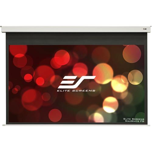 "Elite Screens Evanesce B EB92HW2-E12 92"" Electric Projection Screen"