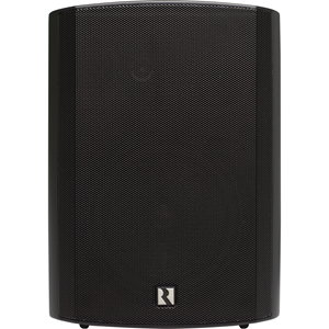 Russound AW70V6 2-way Indoor/Outdoor Surface Mount, Bookshelf, Pole Mount, Wall Mountable Speaker - Black