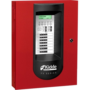 kidde 5 Zone Panel with Dialer Red 120VAC Power Source, 24VDC Output