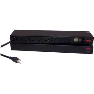 APC by Schneider Electric Rack PDU, Switched, 1U, 15A, 100/120V, (8)5-15