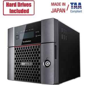 Buffalo TeraStation 5210DN Desktop 4TB NAS Hard Drives Included