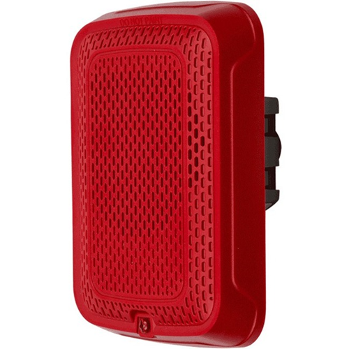 System Sensor SPRL Indoor Wall Mountable Speaker - Red