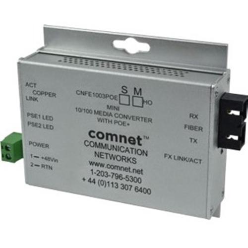 ComNet CNFE100(X)POE/M Transceiver/Media Converter