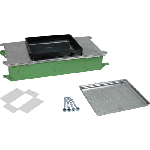Wiremold Resource RFB Series Two Gang On-Grade Floor Box