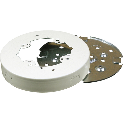 Wiremold Mounting Box for Cable Raceway - Ivory