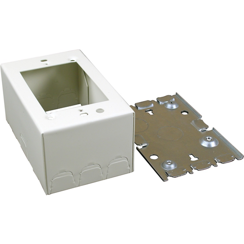 Wiremold 500/700 Single-Gang Deep Switch and Receptacle Box Fitting