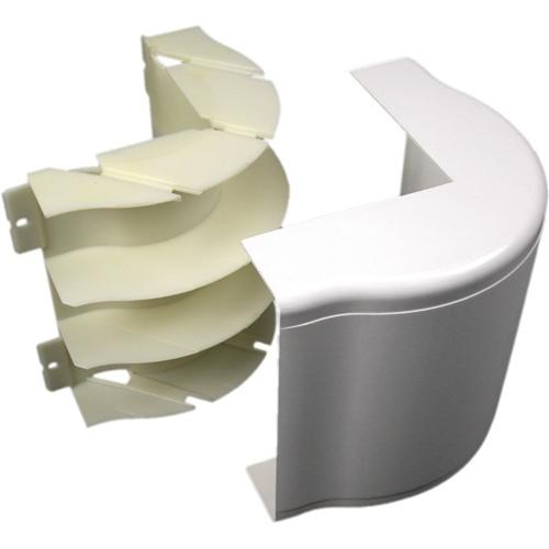 Wiremold 5500 Bend Radius Full Capacity External Elbow Fitting