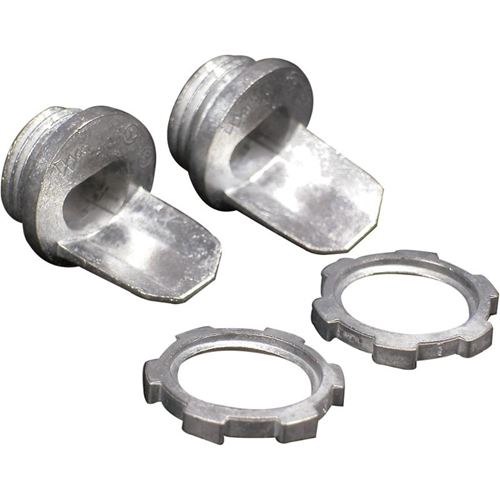 """Wiremold 500/700 3/4"""" Box Connector (Galvanized) Fitting"""