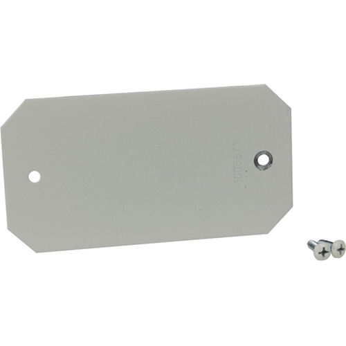 Wiremold Evolution 8AT Series Blank Device Plate