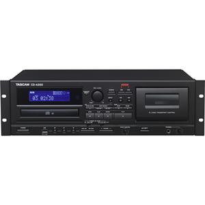 TASCAM Cassette, USB, CD Player/Recorder CD-A580