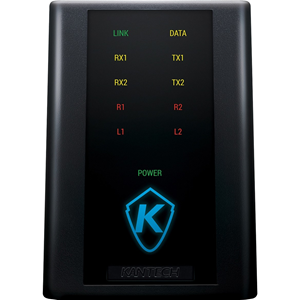 Kantech Ethernet-Ready One Door Controller (KT-1-PCB) and Metal Cabinet (KT-1-CAB-M)