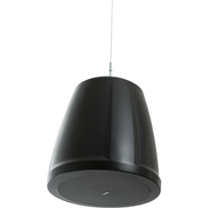 QSC AcousticDesign AD-P6T-BK 2-way Indoor Pendant Mount Speaker - 60 W RMS - Black