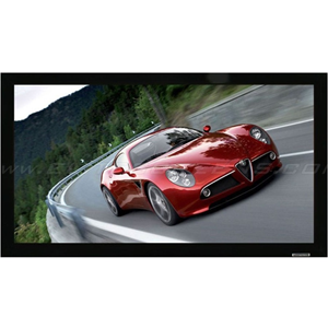 """Elite Prime Vision Peregrine PGF125WH1-WIDE 125"""" Fixed Frame Projection Screen"""