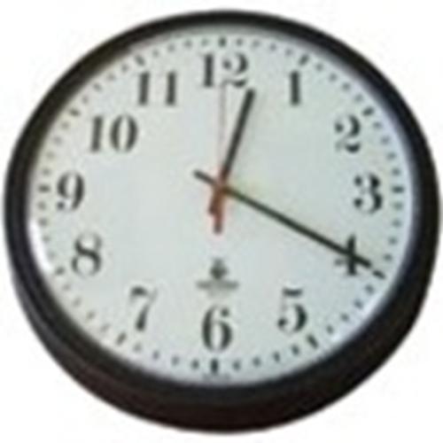 Sperry West SW1300CVI Surveillance Camera - Clock