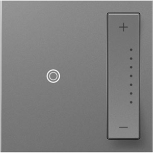 Legrand-On-Q sofTap Wi-Fi Ready Tru-Universal Dimmer, Magnesium
