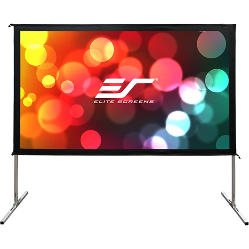 """Elite Screens Yard Master 2 Dual OMS150H2-DUAL 150"""" Projection Screen"""