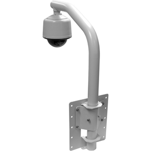 Pelco PP450 Wall Mount for Security Camera Dome - Powder Coated Gray