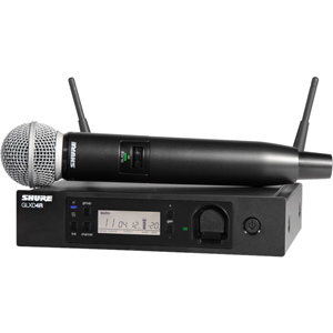 Shure GLX-D Advanced Digital Wireless Vocal System with SM58 Vocal Microphone