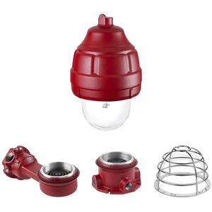 Federal Signal WMXC-4R-SB Mounting Adapter Kit for Strobe Light - Red