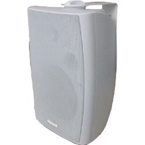 WALL MOUNT CABINET SPEAKER 40/20/10W WHITE AB
