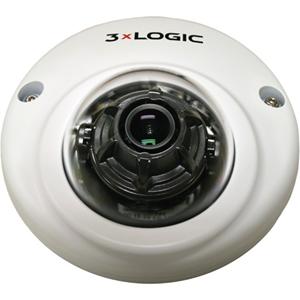 3xLOGIC VISIX 2 Megapixel Network Camera - Mini Dome