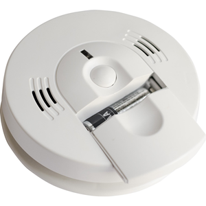 Kidde 120V AC Talking Smoke & Carbon Monoxide Alarm with Front-Load AA Battery Backup