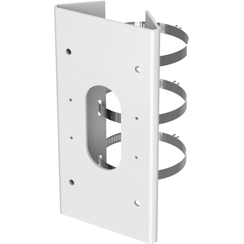 Hikvision PM1 Pole Mount for Network Camera - White