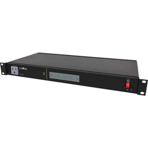 Luxul PDU 8 9-Outlet Intelligent Network Power Distribution Unit