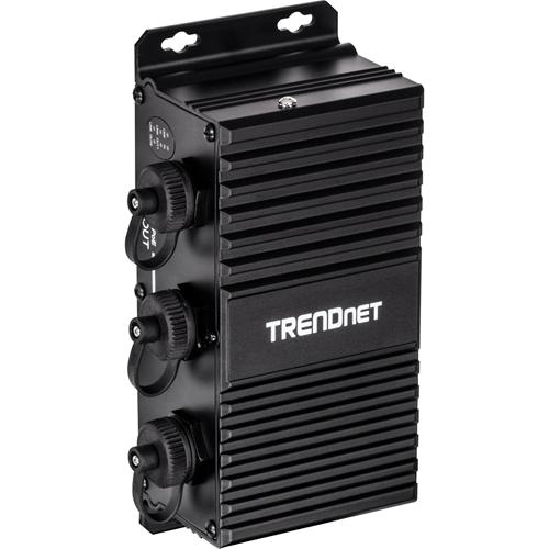TRENDnet 2-Port Industrial Outdoor Gigabit UPoE Extender