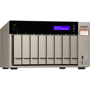 QNAP Powerful NAS with AMD RX-421BD Quad-Core APU and PCIe Expandability