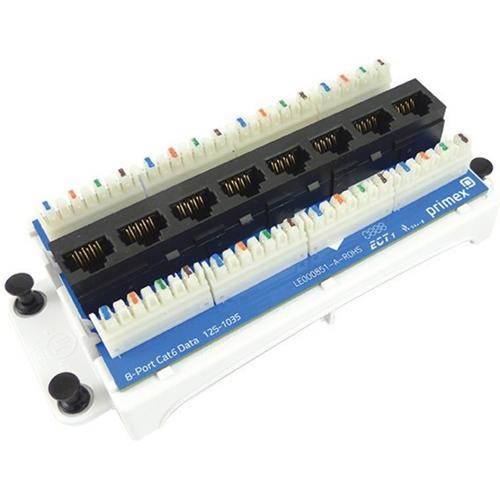 Primex 8-Port Cat6 Data/Voice Module